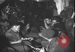Image of Belgian troops aboard US Air Force C-130 aircraft Stanleyville Congo, 1964, second 10 stock footage video 65675058322