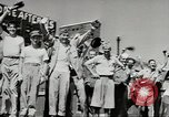 Image of V-J day celebrations Pacific Theater, 1945, second 12 stock footage video 65675058336