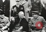 Image of Yalta conference Yalta Crimea Ukraine, 1945, second 11 stock footage video 65675058351