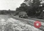 Image of Army Quartermaster vans United States USA, 1943, second 1 stock footage video 65675058467
