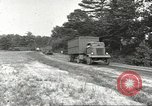 Image of Army Quartermaster vans United States USA, 1943, second 2 stock footage video 65675058467
