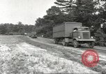 Image of Army Quartermaster vans United States USA, 1943, second 3 stock footage video 65675058467