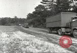 Image of Army Quartermaster vans United States USA, 1943, second 4 stock footage video 65675058467