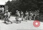 Image of Army Quartermaster vans United States USA, 1943, second 9 stock footage video 65675058467