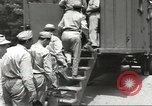 Image of Army Quartermaster vans United States USA, 1943, second 11 stock footage video 65675058467