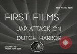 Image of Japanese attack Aleutian Islands, 1942, second 1 stock footage video 65675058475