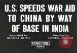 Image of American war supplies India, 1944, second 3 stock footage video 65675058488
