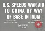 Image of American war supplies India, 1944, second 5 stock footage video 65675058488