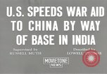 Image of American war supplies India, 1944, second 6 stock footage video 65675058488