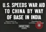 Image of American war supplies India, 1944, second 8 stock footage video 65675058488