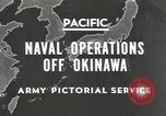 Image of United States Navy Bunker Hill cruiser Okinawa Ryukyu Islands, 1945, second 1 stock footage video 65675058493