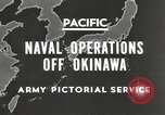 Image of United States Navy Bunker Hill cruiser Okinawa Ryukyu Islands, 1945, second 2 stock footage video 65675058493
