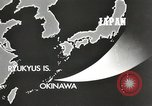 Image of United States Navy Bunker Hill cruiser Okinawa Ryukyu Islands, 1945, second 11 stock footage video 65675058493