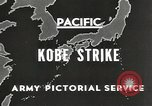Image of drop bombs Kobe Japan, 1945, second 4 stock footage video 65675058494