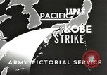 Image of drop bombs Kobe Japan, 1945, second 9 stock footage video 65675058494