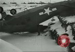 Image of crashed C 64 aircraft Aleutian Islands Alaska USA, 1943, second 6 stock footage video 65675058502