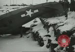 Image of crashed C 64 aircraft Aleutian Islands Alaska USA, 1943, second 7 stock footage video 65675058502