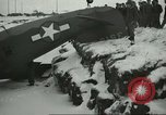 Image of crashed C 64 aircraft Aleutian Islands Alaska USA, 1943, second 8 stock footage video 65675058502