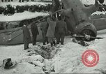 Image of crashed C 64 aircraft Aleutian Islands Alaska USA, 1943, second 9 stock footage video 65675058502