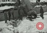 Image of crashed C 64 aircraft Aleutian Islands Alaska USA, 1943, second 11 stock footage video 65675058502