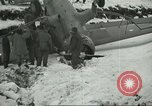 Image of crashed C 64 aircraft Aleutian Islands Alaska USA, 1943, second 12 stock footage video 65675058502