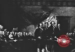 Image of Declaration of Independence painting by John Trumbull United States USA, 1916, second 4 stock footage video 65675058508