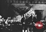 Image of Declaration of Independence painting by John Trumbull United States USA, 1916, second 5 stock footage video 65675058508