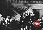 Image of Declaration of Independence painting by John Trumbull United States USA, 1916, second 6 stock footage video 65675058508