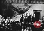 Image of Declaration of Independence painting by John Trumbull United States USA, 1916, second 7 stock footage video 65675058508