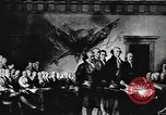 Image of Declaration of Independence painting by John Trumbull United States USA, 1916, second 8 stock footage video 65675058508