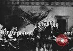 Image of Declaration of Independence painting by John Trumbull United States USA, 1916, second 10 stock footage video 65675058508