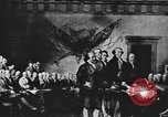 Image of Declaration of Independence painting by John Trumbull United States USA, 1916, second 11 stock footage video 65675058508