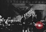 Image of Declaration of Independence painting by John Trumbull United States USA, 1916, second 12 stock footage video 65675058508