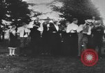 Image of Group at an Ice cream social in the U.S.A.  United States USA, 1916, second 1 stock footage video 65675058509