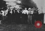 Image of Group at an Ice cream social in the U.S.A.  United States USA, 1916, second 2 stock footage video 65675058509