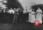Image of Group at an Ice cream social in the U.S.A.  United States USA, 1916, second 5 stock footage video 65675058509