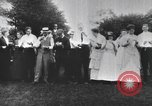 Image of Group at an Ice cream social in the U.S.A.  United States USA, 1916, second 6 stock footage video 65675058509