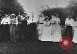 Image of Group at an Ice cream social in the U.S.A.  United States USA, 1916, second 7 stock footage video 65675058509
