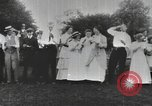 Image of Group at an Ice cream social in the U.S.A.  United States USA, 1916, second 8 stock footage video 65675058509