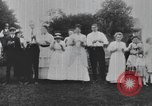 Image of Group at an Ice cream social in the U.S.A.  United States USA, 1916, second 9 stock footage video 65675058509