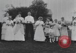 Image of Group at an Ice cream social in the U.S.A.  United States USA, 1916, second 11 stock footage video 65675058509