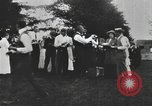 Image of Group at an Ice cream social in the U.S.A.  United States USA, 1916, second 12 stock footage video 65675058509