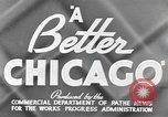 Image of Works Progress Administration project Chicago Illinois USA, 1937, second 5 stock footage video 65675058516
