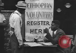 Image of Ethiopian volunteers New York United States USA, 1935, second 8 stock footage video 65675058523