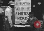 Image of Ethiopian volunteers New York United States USA, 1935, second 9 stock footage video 65675058523