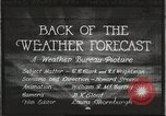 Image of Weather Bureau United States USA, 1931, second 1 stock footage video 65675058551