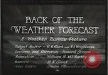 Image of Weather Bureau United States USA, 1931, second 5 stock footage video 65675058551