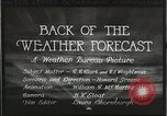 Image of Weather Bureau United States USA, 1931, second 10 stock footage video 65675058551