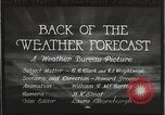Image of Weather Bureau United States USA, 1931, second 11 stock footage video 65675058551