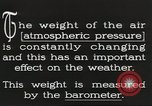 Image of barometer United States USA, 1931, second 2 stock footage video 65675058554